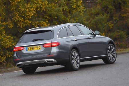 Mercedes E-Class All-Terrain rear
