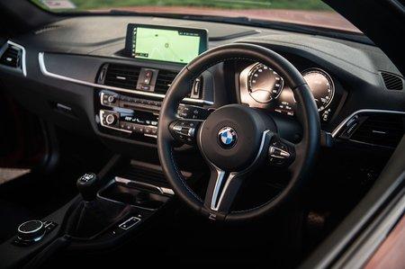 BMW M2 Competition 2019 RHD dashboard