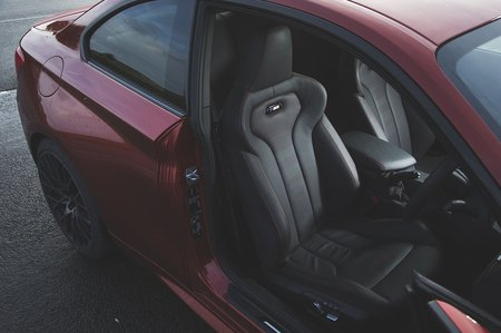 BMW M2 Competition 2019 RHD front seats