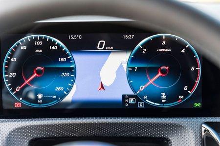 Mercedes CLA 2019 LHD dash cluster