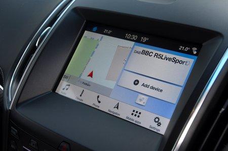 2019 Ford Edge infotainment