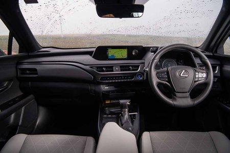 Lexus UX 2019 RHD dashboard