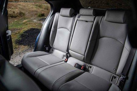 Lexus UX 2019 RHD rear seats