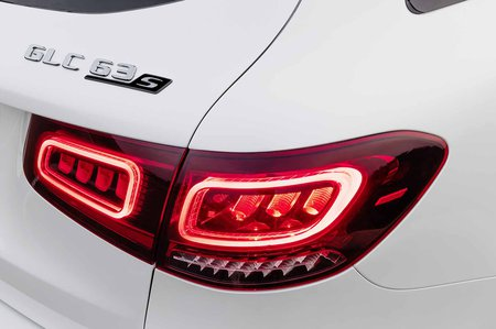 Mercedes-AMG GLC 63 Facelift 2019 rear lights detail