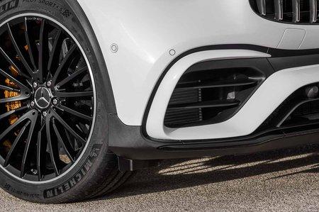 Mercedes-AMG GLC 63 Facelift 2019 front end detail