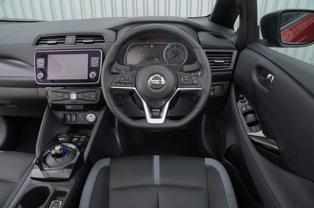2019 Nissan Leaf 62kWh dashboard