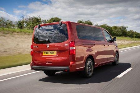 Vauxhall Vivaro Life 2019 rear cornering shot