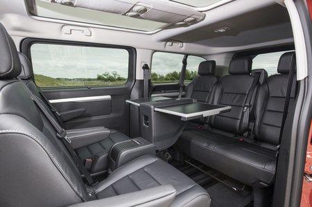 Vauxhall Vivaro Life 2019 RHD third row seats