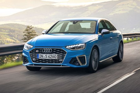 Audi S4 2019 LHD front tracking