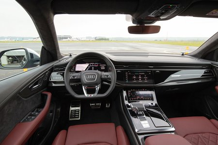 Audi SQ8 2019 LHD interior