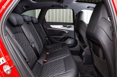 Audi S6 Avant rear seats
