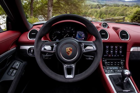2019 718 Boxster Spyder LHD instrument panel