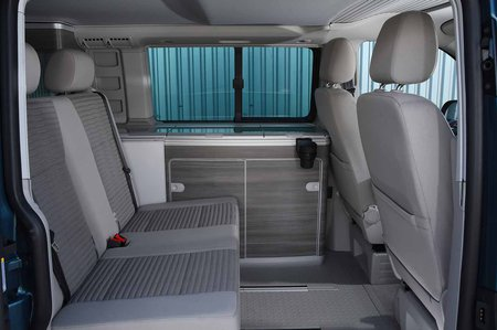Volkswagen California 2019 RHD rear seats