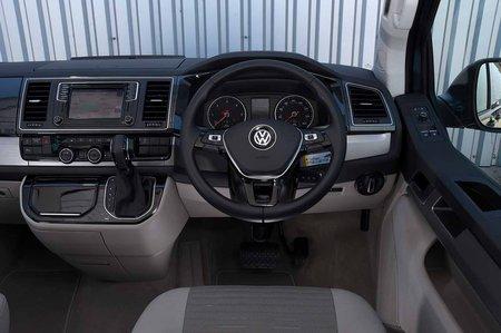 Volkswagen California 2019 RHD dashboard