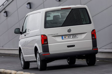Volkswagen Transporter rear