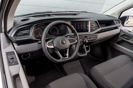 Volkswagen Transporter interior