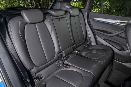 BMW X1 2019 LHD rear seats