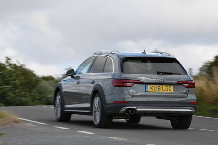 Audi A4 Allroad 2018 rear cornering