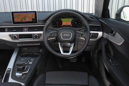 Audi A4 Allroad 2018 RHD dashboard