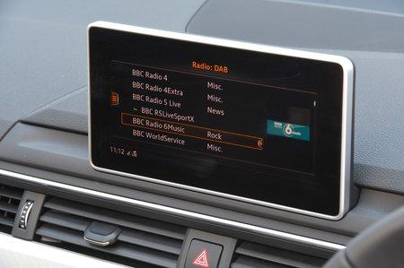 Audi A4 Allroad 2018 RHD infotainment