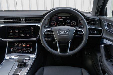 Audi Allroad 2019 RHD dashboard
