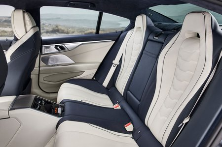 8 Series Gran Coupé 2019 LHD rear seats