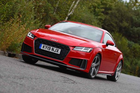Audi TT Coupe 2019 front tracking