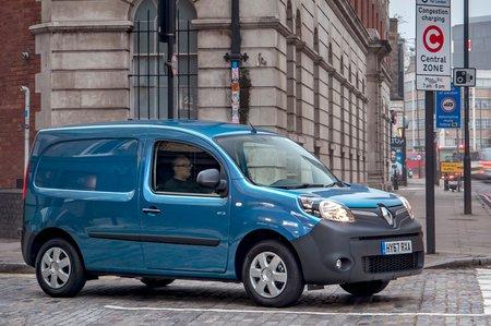 Renault Kangoo ZE side