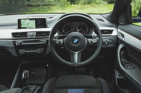 BMW X2 M35i 2019 RHD dashboard