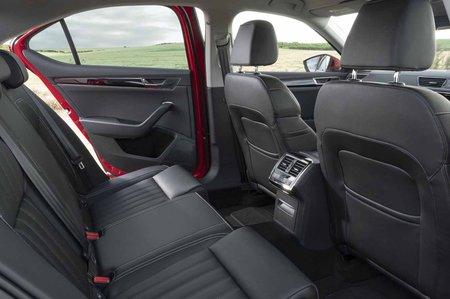 Skoda Superb 2019 RHD rear seats