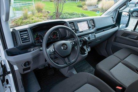 Volkswagen e-Crafter interior