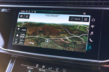 Audi SQ7 2019 RHD infotainment