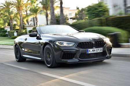 BMW M8 2019 LHD launch pic
