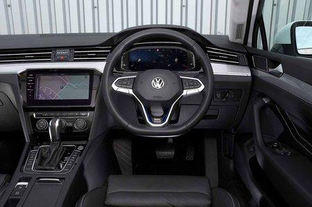 Volkswagen Passat Estate GTE 2019 RHD dashboard