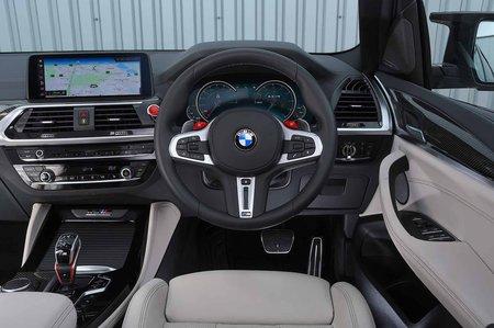 BMW X3 M 2019 RHD dashboard