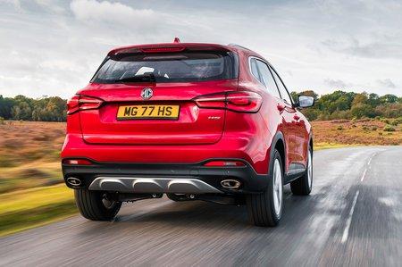 MG HS 2019 RHD rear right tracking