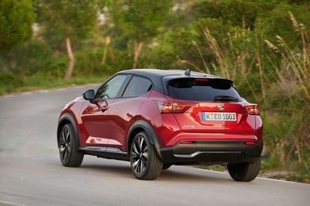 Nissan Juke 2019 rear left tracking