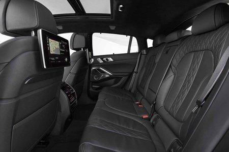 BMW X6 2019 LHD rear seats