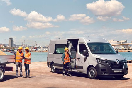 Renault Master load space