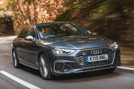 Audi S4 2019 RHD front tracking