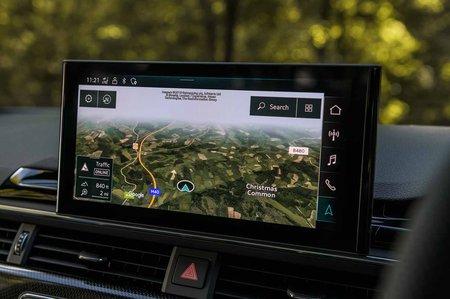 Audi S4 2019 RHD infotainment