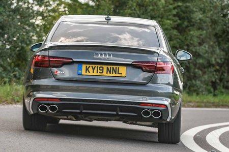 Audi S4 2019 RHD rear right tracking