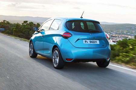 Renault Zoe 2019 rear left tracking