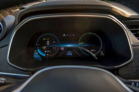 Renault Zoe 2019 LHD instrument cluster