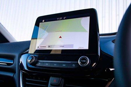 Ford Fiesta 2019 RHD infotainment