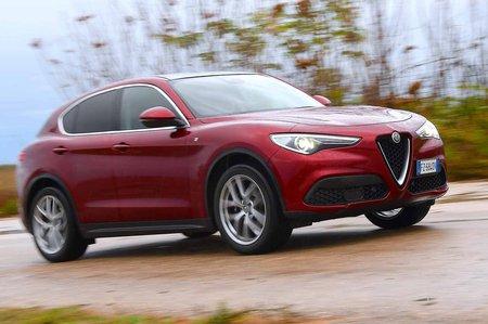 Alfa Romeo Stelvio 2019 Facelift front tracking