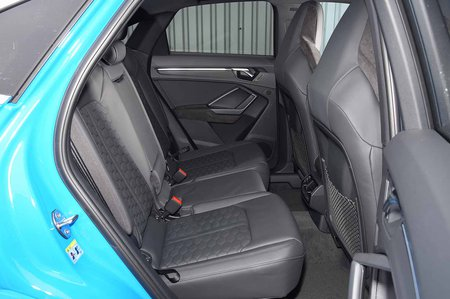 Audi RS Q3 2019 RHD rear seats