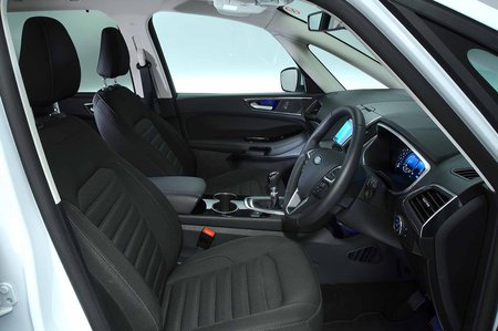 Ford Galaxy 2019 RHD front seats