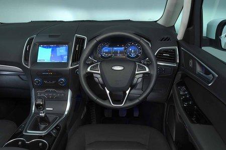 Ford Galaxy 2019 RHD dashboard
