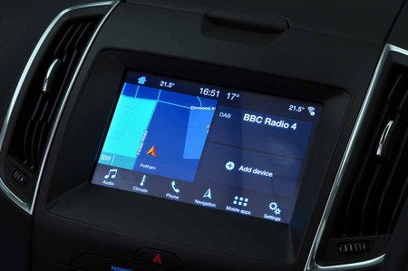 Ford Galaxy 2019 RHD infotainment